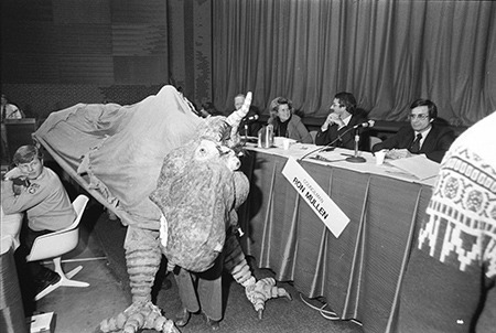 Energy Dragon at Public Hearing