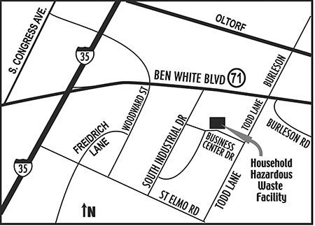 Drop-off Cemter Map