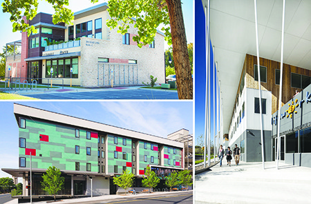 Three new green buildings built for non-profit organizations