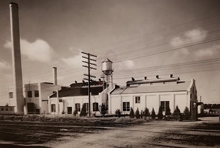 Old Seaholm plant 1936
