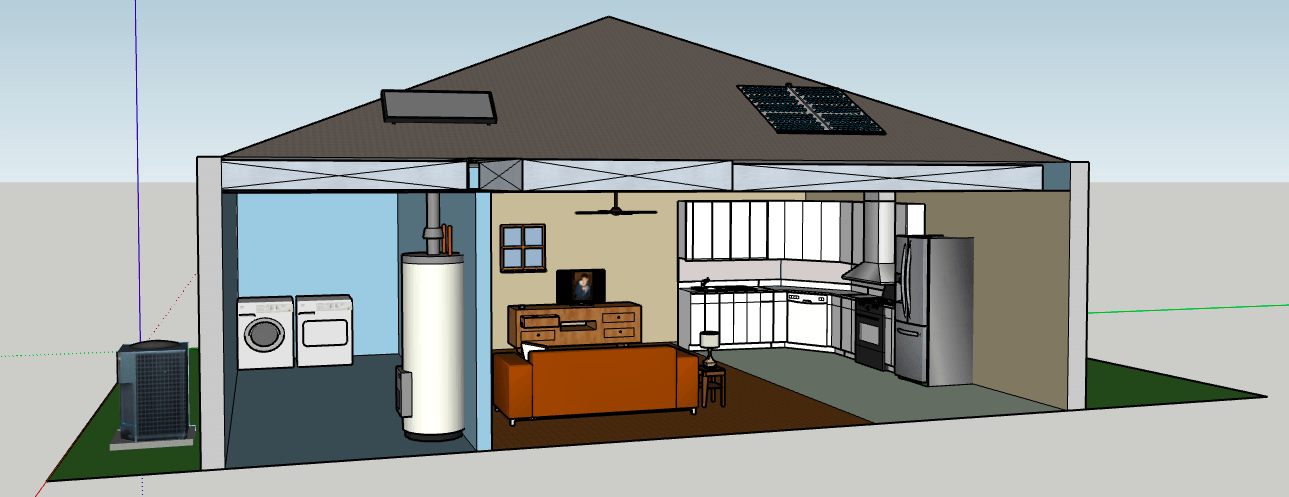 The Energy-Efficient House